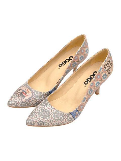 Туфлі в принт DOGO 3081085