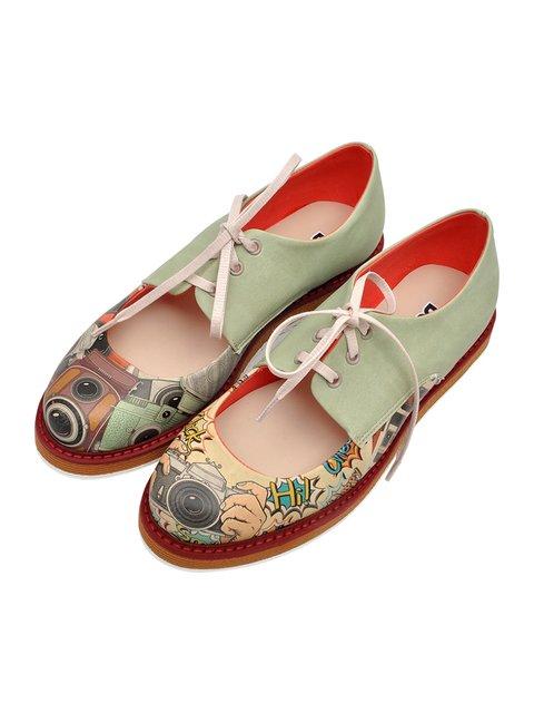 Туфлі в принт DOGO 3081108