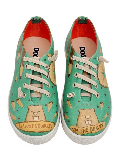 Туфли в принт DOGO 3081128