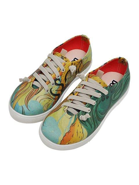 Туфли в принт DOGO 3081144