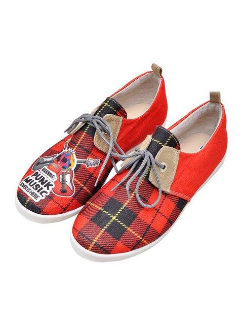 Туфлі в принт і клітинку DOGO 3081175