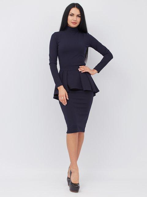 Платье синее Alana 3090647