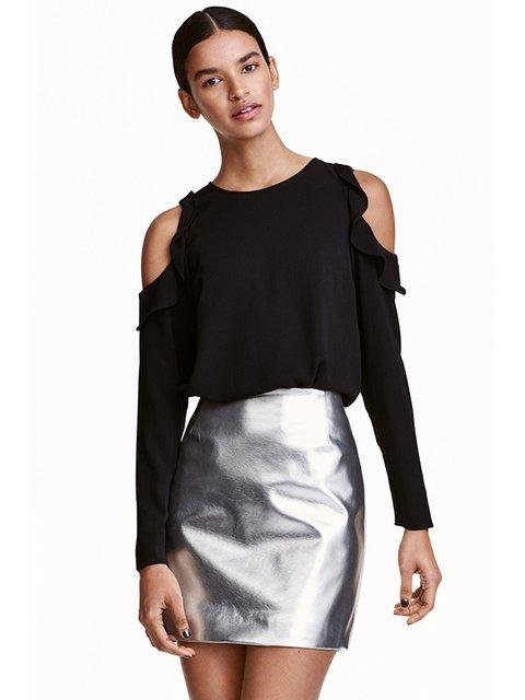 Блуза чорна H&M 3082194