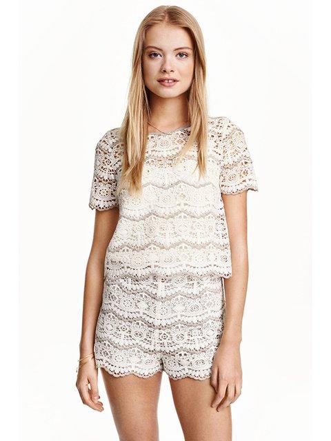 Блуза біла H&M 3087122