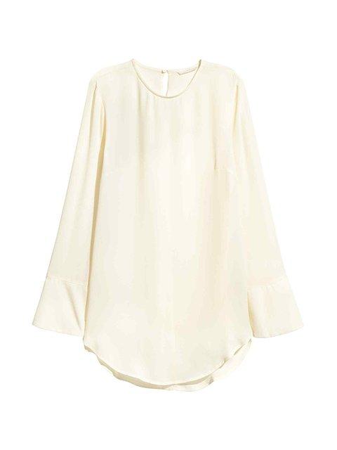 Блуза молочного цвета H&M 3100025