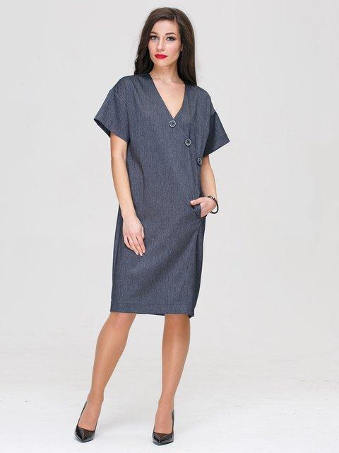 Платье серое Jet 3101296