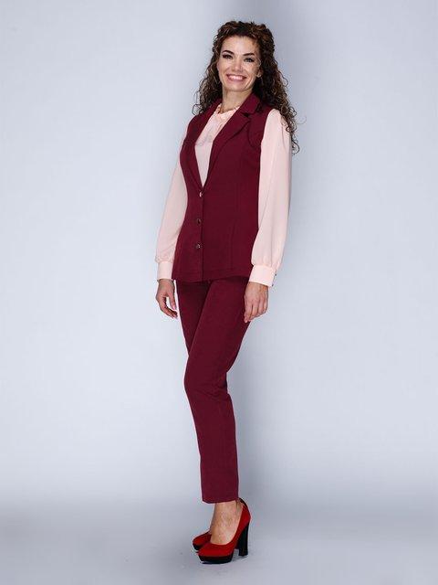 Комплект: жилет и брюки укороченные Marc Vero Maxxi 3046177