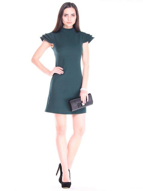 Платье темно-изумрудного цвета Dioni 3109726