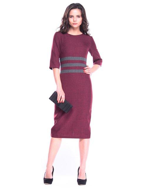 Платье темно-сливовое Maurini 3109853