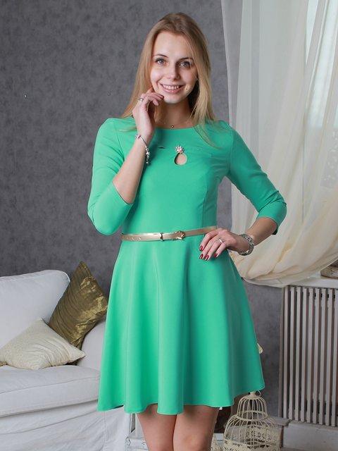 Платье мятного цвета VSV 2279080