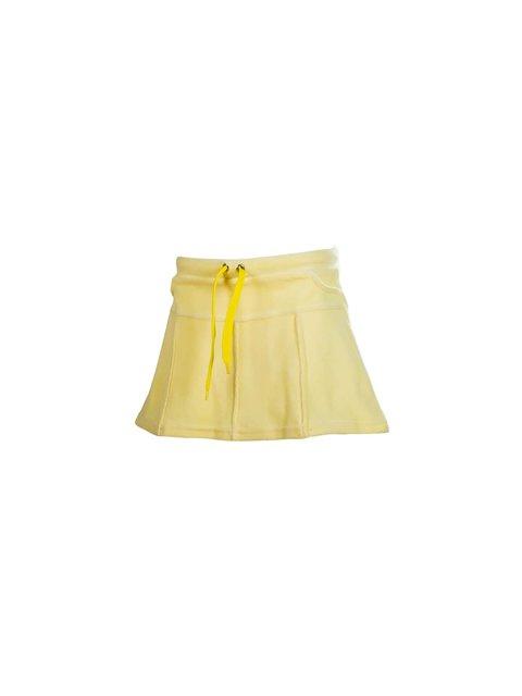 Юбка желтая велюровая Lejeko 3133207