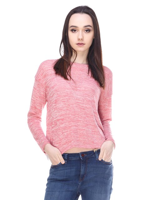 Джемпер рожевий Springfield 3009992