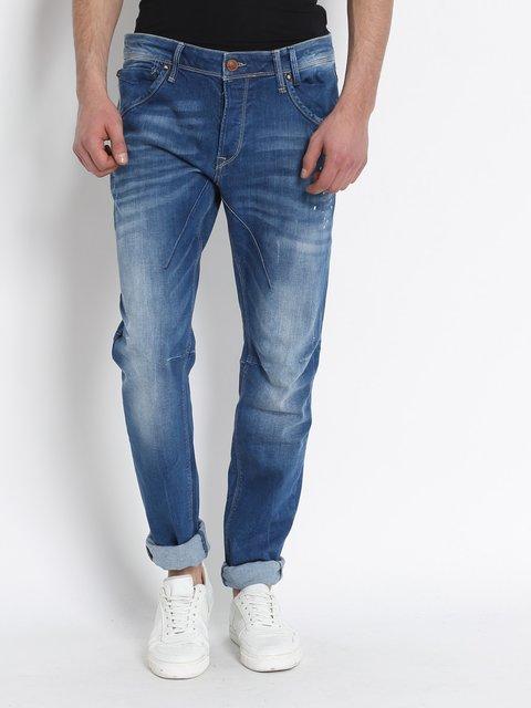 Джинсы синие с эффектом потертых Pepe Jeans 3160434
