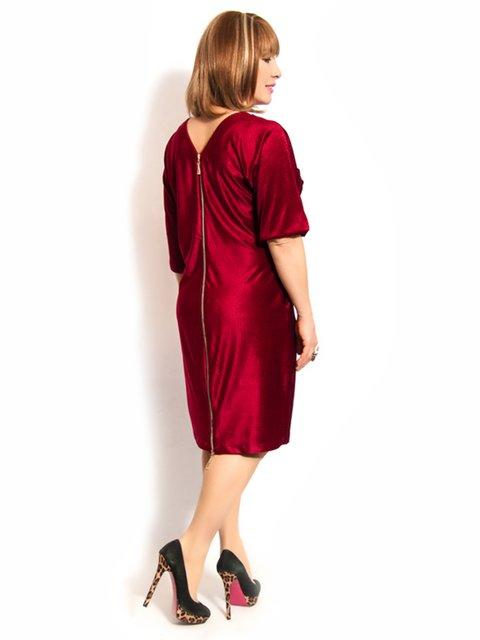 Платье бордовое LibeAmore 3158977