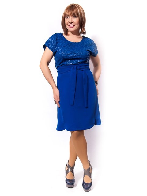 Сукня кольору електрик LibeAmore 3158986
