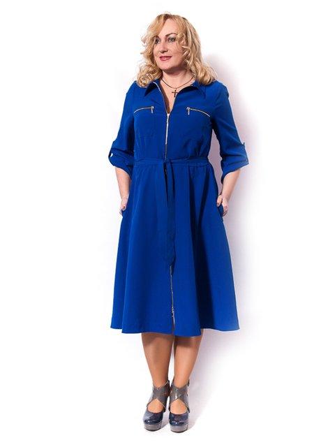 Платье цвета электрик LibeAmore 3158989