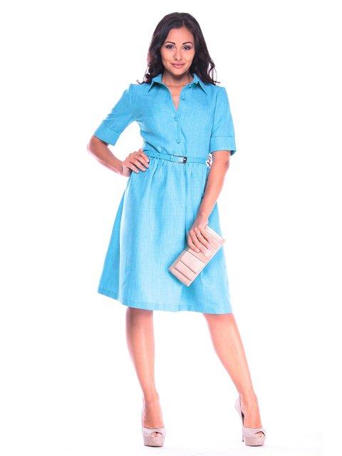 Платье ментолового цвета Dioni 3160457