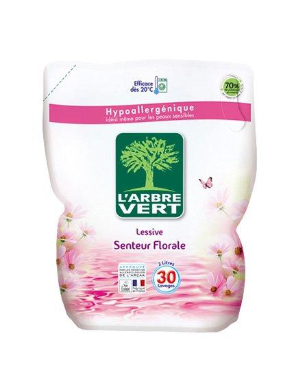 Засіб для прання L'Arbre Vert «Запасний блок - Аромат квітів» (2 л) L'ARBRE VERT 3167203