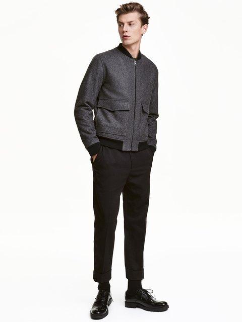 Штани чорні H&M 3081755
