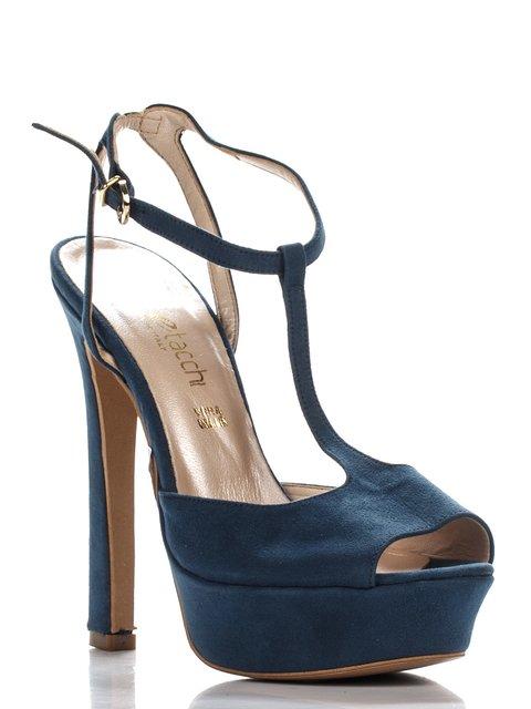 Босоножки синие Tipe Tacchi 3138386