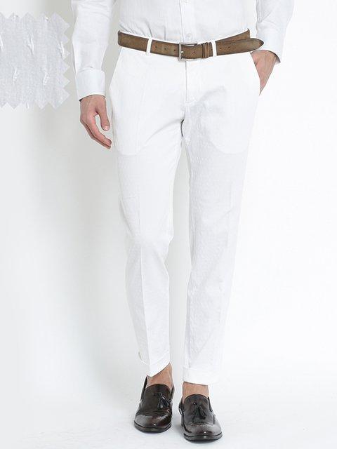 Штани білі Bsettecento 3181827