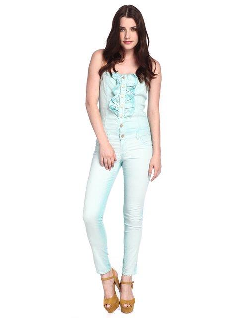 Комбинезон голубой Amy Gee 3185948
