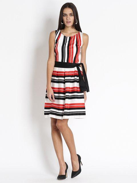 Платье в полоску Sandro Ferrone 3186111