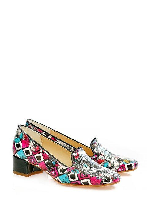 Туфли в разноцветный принт Neefs 3189106