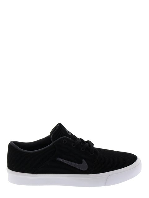 Кроссовки черные SB Portmore CNVS Premium Nike 3036304