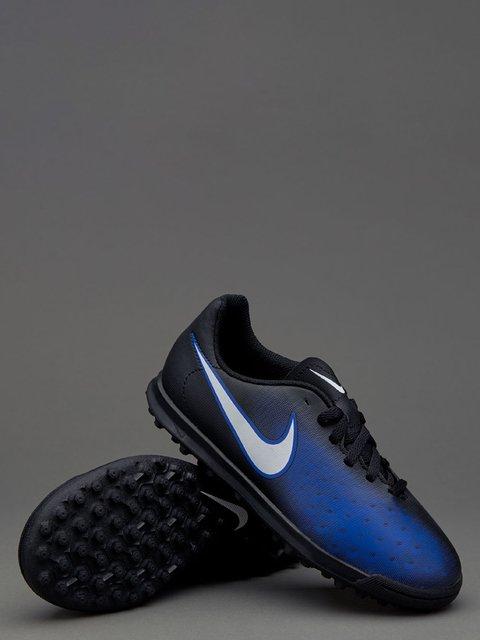 Кроссовки черно-синие Magista Ola II TF Nike 3140999