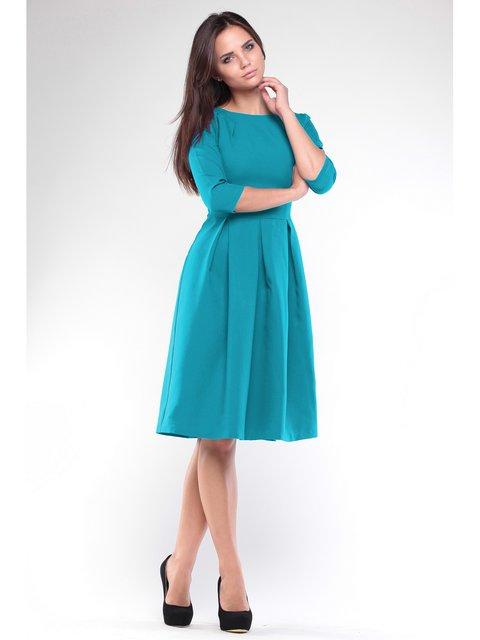 Платье бирюзовое Dioni 3184392