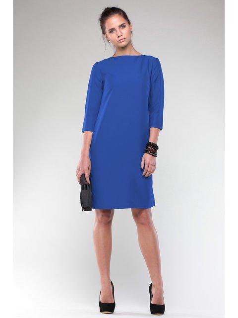 Платье цвета электрик Maurini 3184431