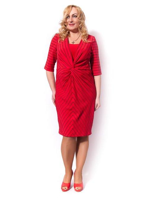 Платье красное LibeAmore 3195463