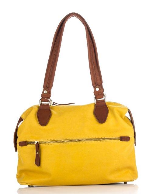 Сумка желто-коричневая Monika Ricci 3173305
