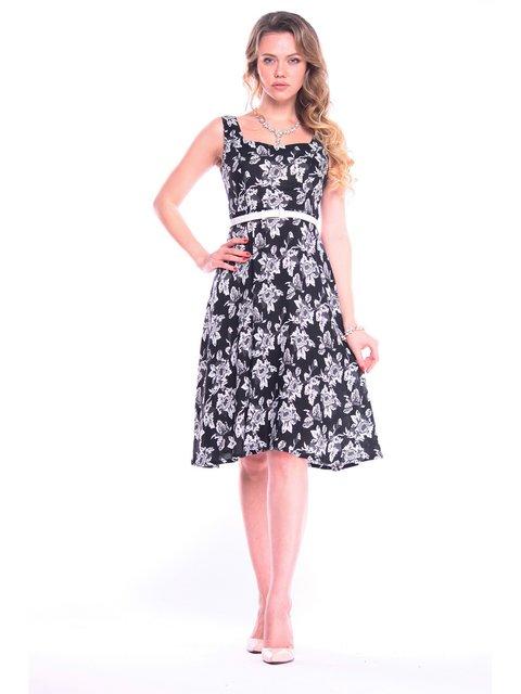 Платье в цветочный принт Victoria Loks 3203889