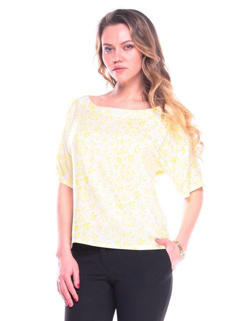 Блуза в принт Victoria Loks 3203891