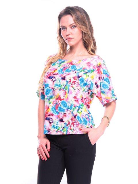 Блуза в принт Victoria Loks 3203893