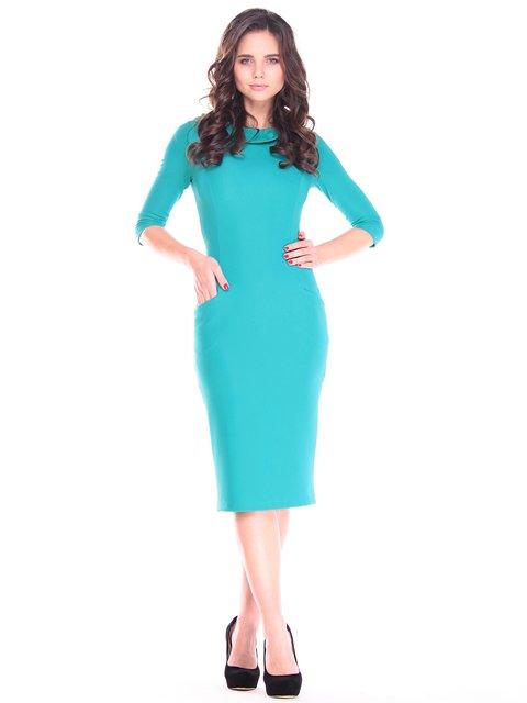 Платье бирюзовое Maurini 2809456