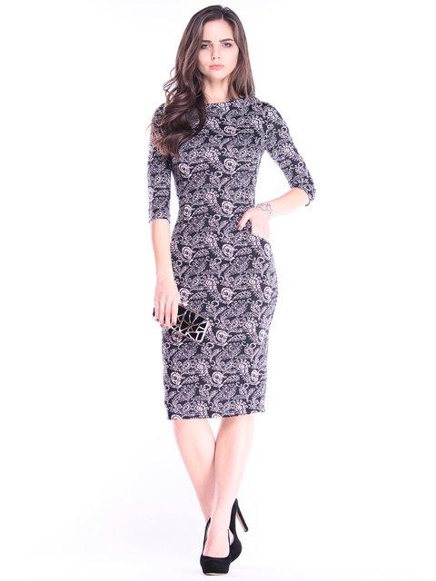 Сукня в принт Laura Bettini 2995898