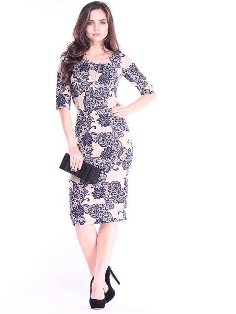 Платье в принт Dioni 2995909
