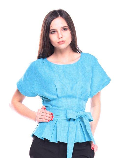 Блуза ментолового кольору Laura Bettini 3091003
