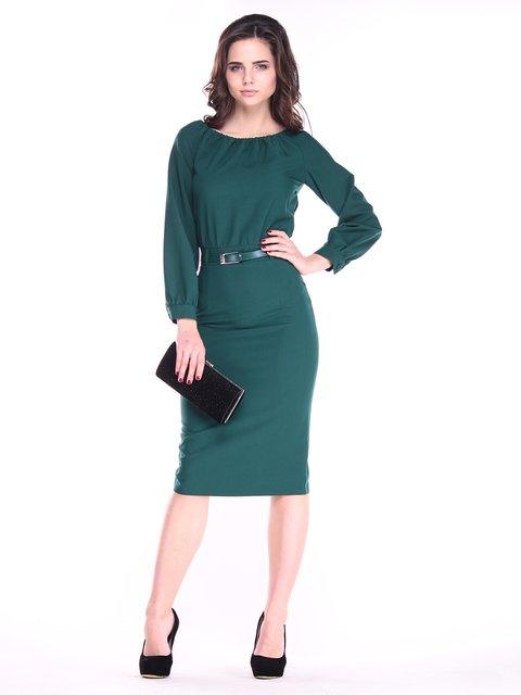 Платье изумрудное Dioni 3121312
