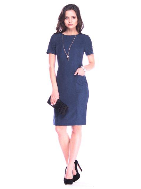 Сукня темно-синя Laura Bettini 3141537