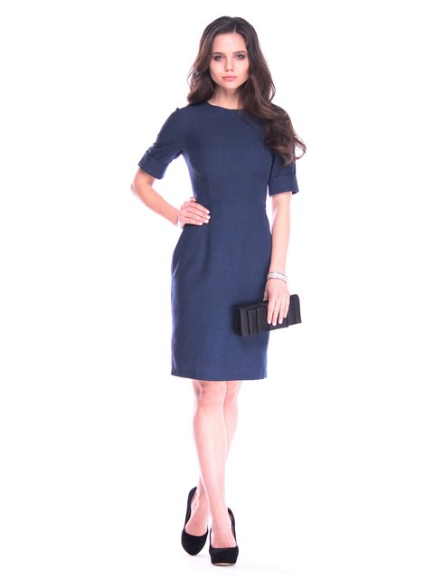 Платье темно-синее Maurini 3141559