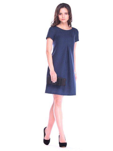 Сукня темно-синя Rebecca Tatti 3184480