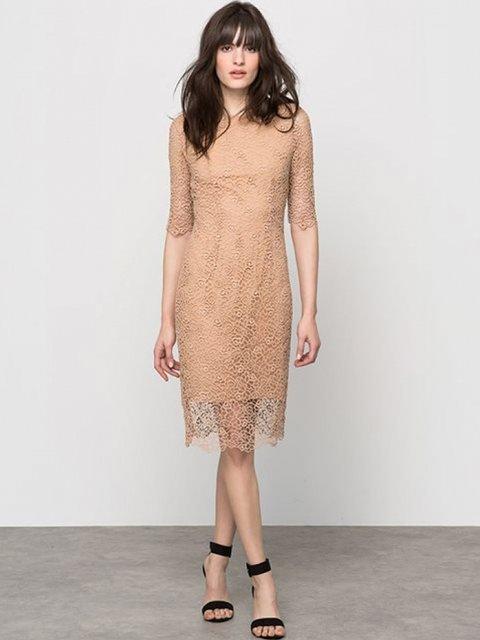Сукня бежева ATELIER R 3206011