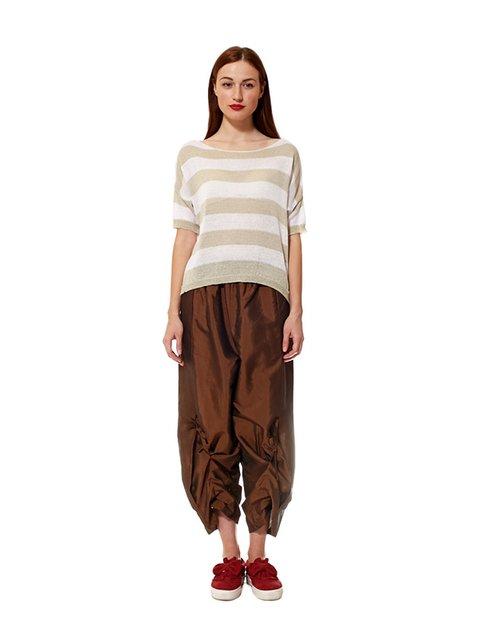 Брюки коричневые Wendy Trendy 3133670