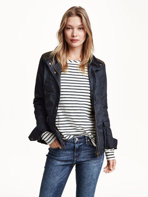 Куртка темно-синяя H&M 3082291
