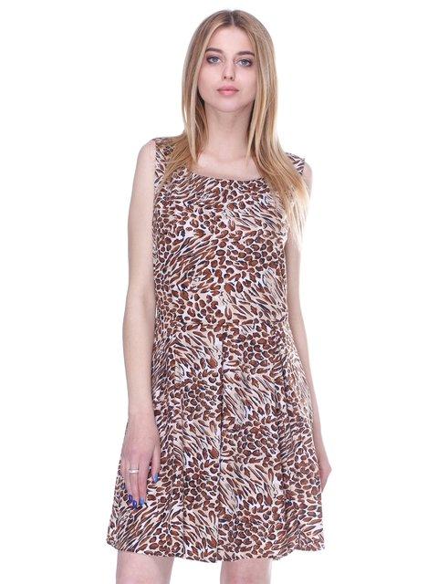 Платье анималистической расцветки Mela 3162954