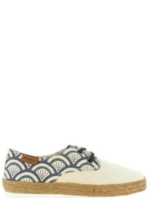 Кеды белые с принтом Pepe Jeans 3236841